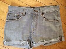 Boys girls lucky brand grey shorts 12