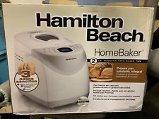 NEW Hamilton Beach Homebaker 2 Pound Automatic Breadmaker #29881 READY TO SHIP