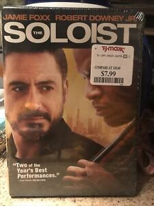 The Soloist (DVD, 2009, Sensormatic) New And Sealed