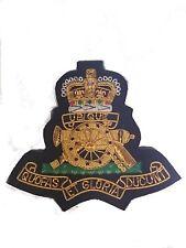 Royal Regiment of Artillery Military Blazer Badge Wire Bullion Badge