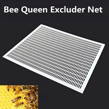 10-Frame Bee Queen Excluder Trapping Net Grid Beekeeping Tool Plastic Equipment