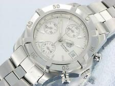 Tag Heuer Aquaracer Exclusive Automatic Chronograph Mens Watch Stainless Steel