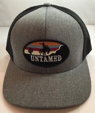 aaecf2a9b9d Red Dirt Hat Co Untamed Rodeo Trucker Patch Hat SnapBack OSFA