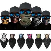 1PC Ghost Biker Skull Face MaskMotorcycle Ski Balaclava Hood CS Sport Helmet US