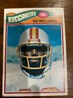 1977 Topps #148 Ed Williams Rookie Card Tampa Bay Buccaneers
