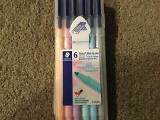 Staedtler triplus fiber-tip 6 ct pastel pen set