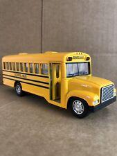 "Yellow School Bus 6"" Die cast Model Pullback Action"