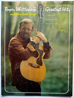 ROGER WHITTAKER songbook GREATEST HITS Piano Organ 1979