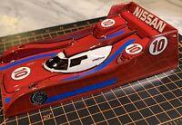 1/24 Custom Painted RTR LMP Orca Slot Car Body/.007 Thk