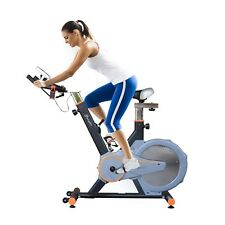 Upright Exercise Bike Indoor Cycling Cardio Workout