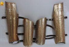 300 MOVIE SPARTAN Medieval LEG + Ancient ARM GUARD SET GREAVES & BRACES MT468
