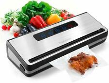 Food Vacuum Sealer, Toyuugo Automatic/Manual Food Saver Machine, One-Touch Food