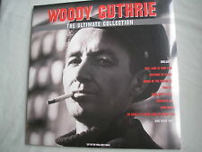 WOODY GUTHRIE Ultimate Collection UK double LP 2018 new mint sealed grey vinyl