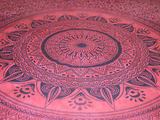 Queen Size Mandala Tapestry Printed Coloring Pages Wall hanging Wall Decor Throw
