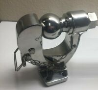 """5 Ton STAINLESS STEEL 304 PINTLE 2 5/16"""" BALL TOW HITCH"""