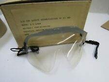 Royal Canadian Air Force Post Ww2 Anti Gas Eyeshields Mk 3 1956 Rommel Goggles