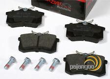 Seat Leon [1M1] - Metzger Bremsbeläge mit Bremssattelschrauben für hinten