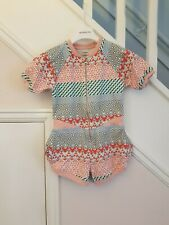 NO ADDED SUGAR Girls Designer Playsuit Age 5-6 RRP £80