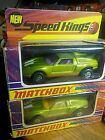 2 Vintage Matchbox Speed Kings K-30 Mercedes Benz C 111 ~ 1971