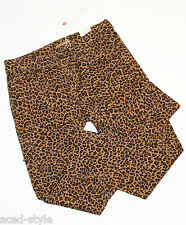 Esprit Damen Hose Jeans stretch 5-pocket Röhre slim Gr. 40 L 30 braun print NEU