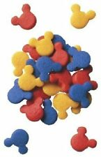 Mickey Mouse Edible Sprinkles - Red, Blue, Yellow - 2.0 oz