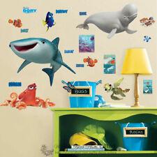 Disney Pixar Finding Dory Kids Wall Art Stickers Nursery Decor Hank Destiny Nemo