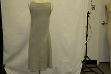 PETIT BATEAU Green Ribbed Dress With Buttons 71367 Size 18 Years $51 New