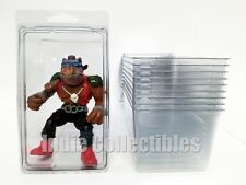 TMNT BLISTER CASE LOT OF 10 Action Figure Display Protective Clamshell X-LARGE
