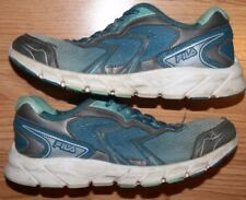 Fila Running Shoes 7 Womens Blue & Gray Athletic Seven Sneakers European 42.5