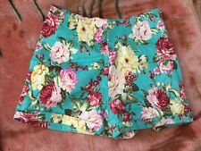 Brandy Melville Shorts Floral High Waisted New Size XS/S Cotton Blend