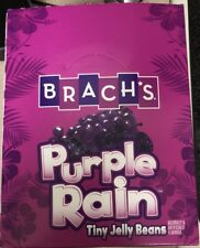 PRINCE TRIBUTE PURPLE RAIN JELLY BEANS EMPTY SHELF BOX NO JELLY BEANS INCLUDED