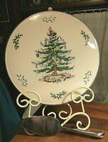Spode Christmas Tree Cake Plate & Server SET New In Box/ Very Nice!!!!!
