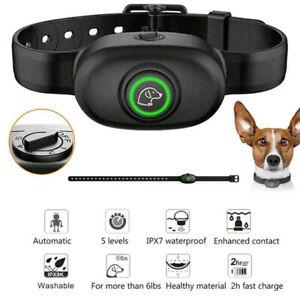 Elektrische Auto-Steuerung Hunde Anti-Bark Training Halsband Schock Gehorsam