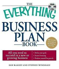 "The ""Everything"" Business Plan Book: All You Need to Plan for Success in a New o"