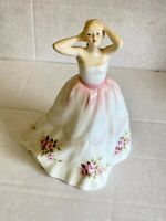 """Beautiful Royal Doulton """"Claire"""" Lady Figurine HN3209 1990"""