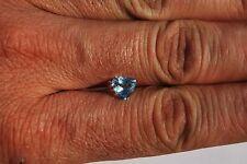 1 Topaze bleu Facettée du Brésil 1,45 ct/ lithothérapie / topaz bijou minéraux