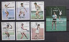 Nicaragua 1987 tennis Usato