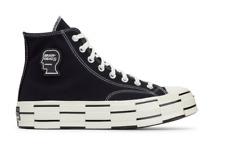 Converse x Braindead Chuck 70 High Black White Size 7 - 11 170549C