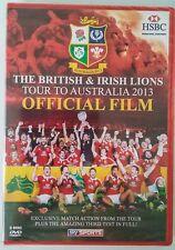 British & Irish Lions Tour Australia 2013 Official Film Sports DVD Region Free