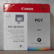 Original Canon PFI-301PGY Tintentank photo grau  für iPF 8000 9000