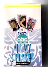 1991 Star Pics All My Children Trading Card Box
