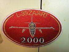 MINT Military Patch Rare Thailand L-39 Albatross ZA / ART 2000 Hr. Patch