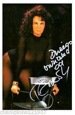 Teresa Orlovski ++Autogramm++ ++Sexy Superstar ++
