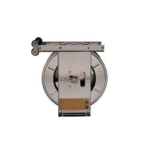 Stainless steel hose reel, retractable, 15 mtr, industrial,catering,brand new