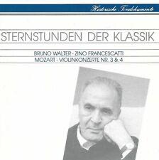 Bruno Walter: Wolfgang Amadeus Mozart (1756-1791) • Violinkonzerte Nr. 3 & 4 CD