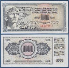 JUGOSLAWIEN / YUGOSLAVIA 1000 Dinara 1974 UNC  P.86