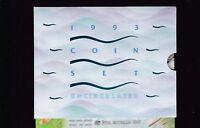 1993 UNC Coin SET Australia uncirculated