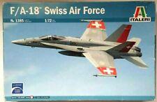 ITALERI  1/72 F/A-18 SWISS AIR FORCE