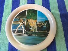 Lion Country Safari Jungle Park Vintage Tin Tray Collector