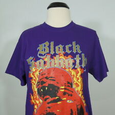 BLACK SABBATH Born Again T-Shirt Purple Men's size M (NEW)